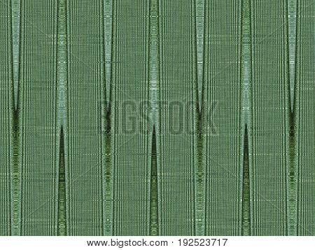 creative abstract green texture with vertical ribbons