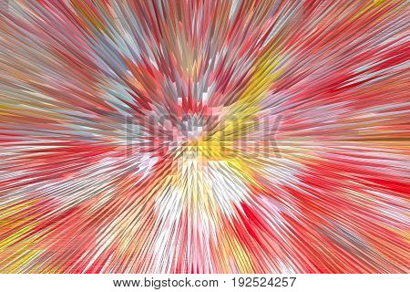 creative abstract multicolored texture with light ribbons
