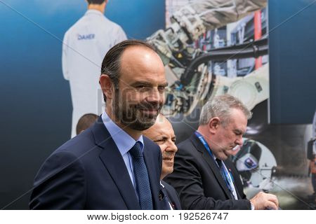Prime Minister Of France Edouard Philippe