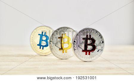 Bitcoins On The Table