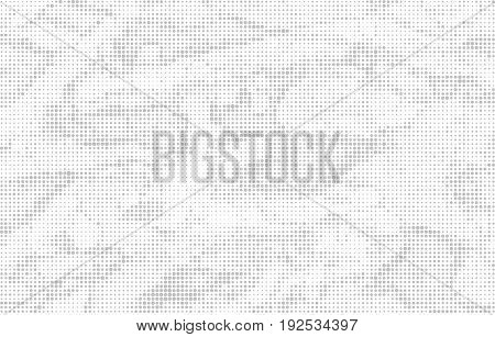 Abstract Dotted Background, Halftone Pattern In Light Tones. Vector Illustration For Your Design.