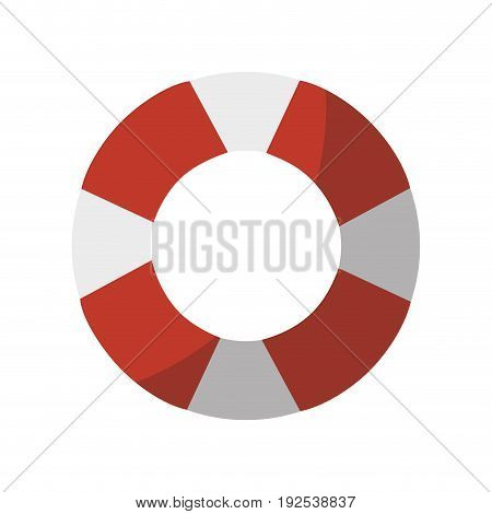 safety float icon over white background vector illustration