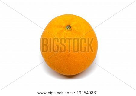 Fresh mandalin orange isolated on white background