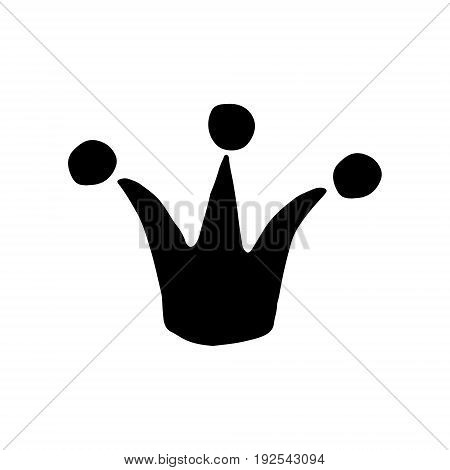 Hand Drawn Vector Crown
