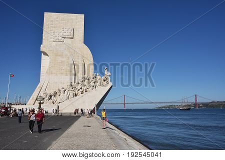 Monument To The Discoveries Lisbon Portugal