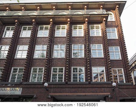 Broschek House By Fritz Hoeger In Hamburg