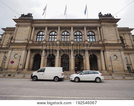 Handelskammer (chamber Of Commerce) In Hamburg