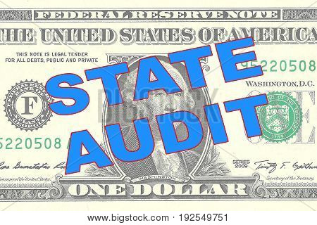 State Audit - Financial Concept