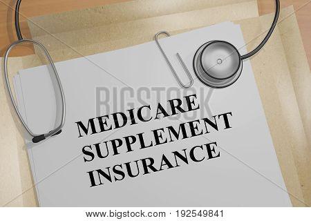 Medicare Supplement Insurance - Medical Concept