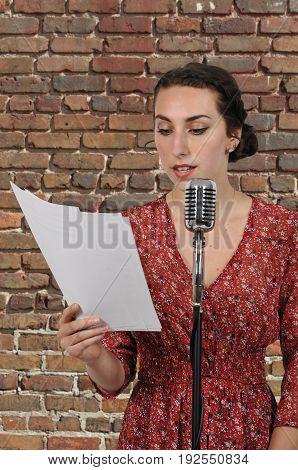 Woman Radio Play