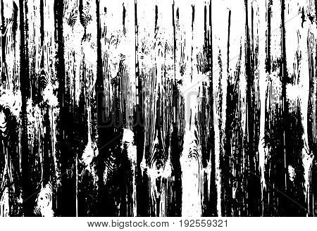Wood grunge texture. Natural wooden isolated background. Vector illustration