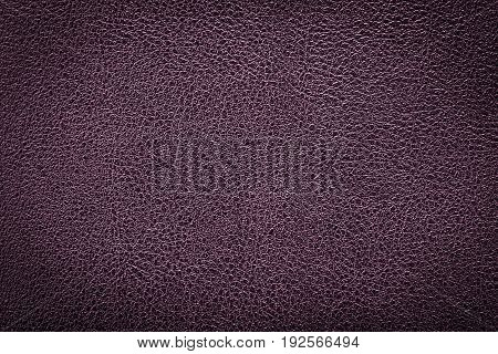Deep purple leather texture background for fashion, furniture or interior concept design.