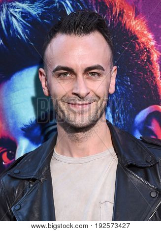 LOS ANGELES - JUN 20:  Joseph Gilgun arrives for the AMC Season Two 'Preacher' Premiere Screening on June 20, 2017 in Los Angeles, CA