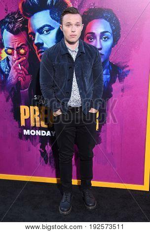 LOS ANGELES - JUN 20:  Ian Colletti arrives for the AMC Season Two 'Preacher' Premiere Screening on June 20, 2017 in Los Angeles, CA