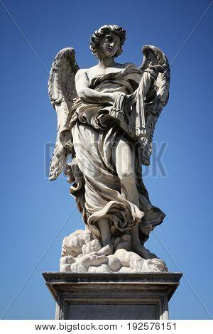 Angel Sculpture Rome