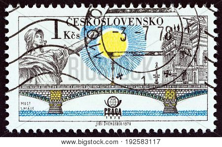 CZECHOSLOVAKIA - CIRCA 1978: A stamp printed in Czechoslovakia from the