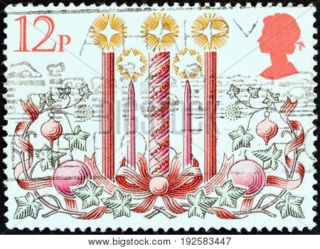 UNITED KINGDOM - CIRCA 1980: A stamp printed in United Kingdom from the
