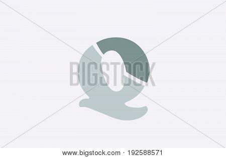 Q Alphabet Letter Logo Icon Template Company