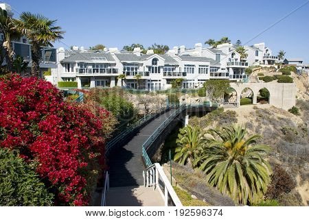 Dana Point houses, Orange County - California