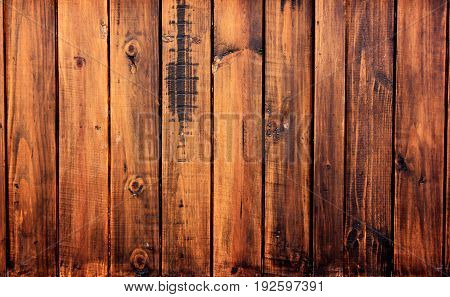 Walls made of wood are durable and beautiful.