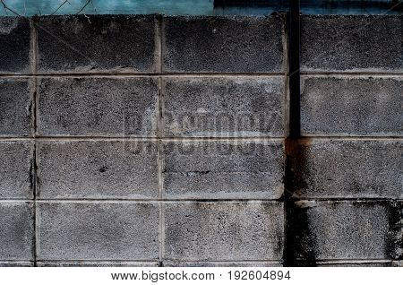 The black block blick in the wall