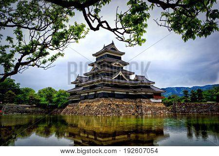 Matsumoto Castle In Spring