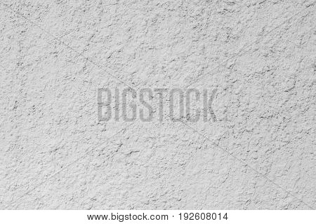 Texture Of A Wall With A Relief Cement Plaster