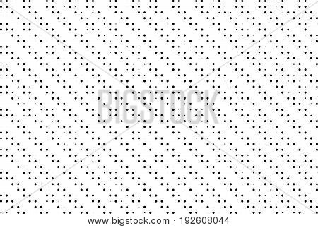 Halftone dotted background. Pop art style. Retro comic pattern with circles dots design element for web banners posters cards wallpaper backdrops sites. Black and white. Vector illustration