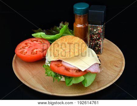 Home Made Kitchen Fast Sandwich