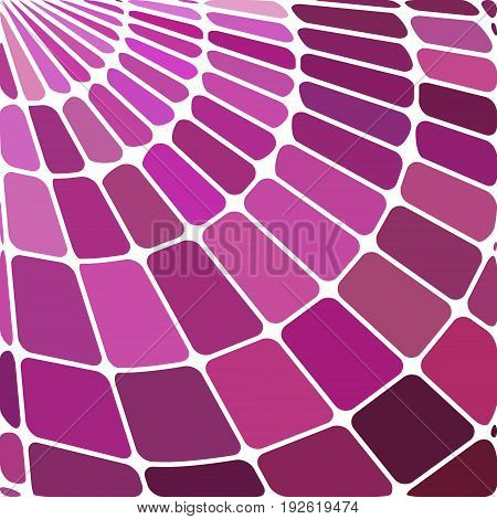 abstract vector stained-glass mosaic background - purple and magenta