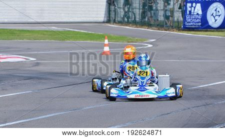 Cik-fia European Karting Championship.