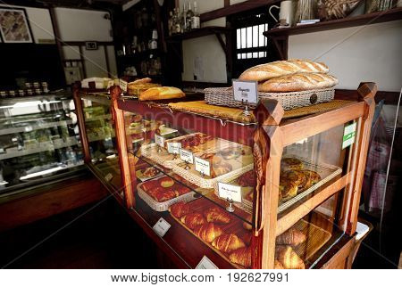 Old Bakery Shop In Laos