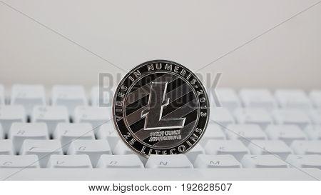 Black Litecoin Coin
