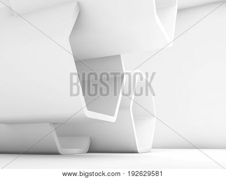 3D Honeycomb Installation In Empty Interior