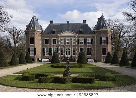 Nijenhuis castle near Diepenheim in the Dutch province Overijssel