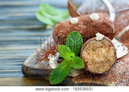 Traditional Cake Truffle Potatoes.