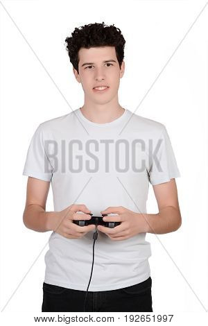 Man Playing Videogames.
