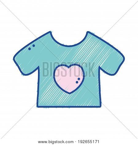 baby t-shirt and textile clothes vector illustration