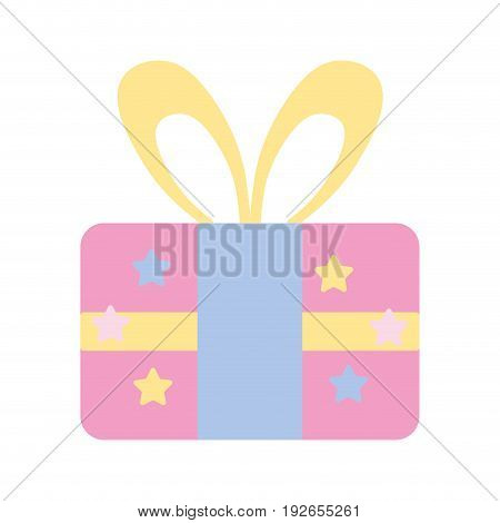 present gift to celebrate special day vector illustration