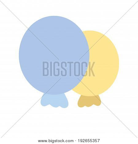 balloons to party decoration design vector illustration