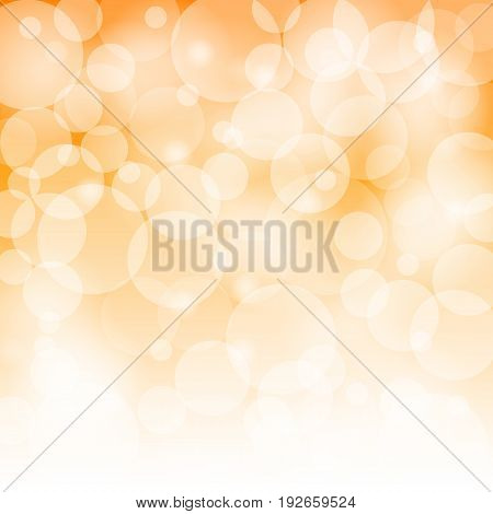 abstract circle bokeh background with light effect