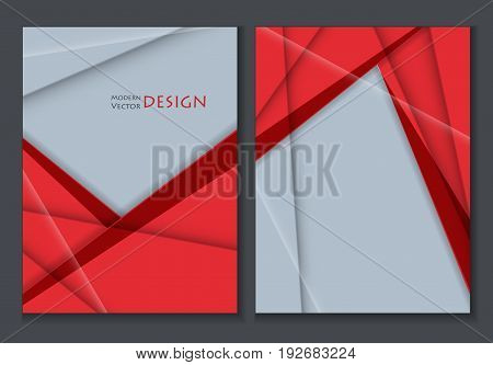 colorful annual report templates. Vertical vector backgrounds for your design. Eps10