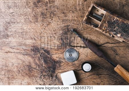 Soldering Iron, Tin And Tools For The Professional