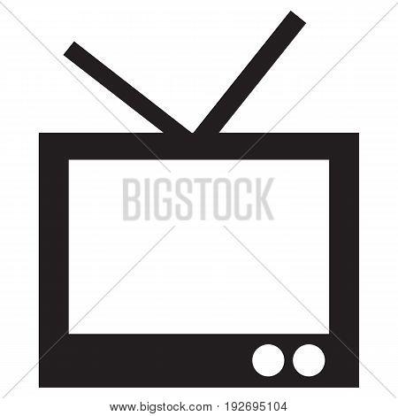 TV Icon  television industry computer icon vector computer monitor