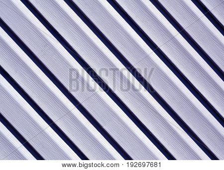 Blue Color Pvc Siding Wall.