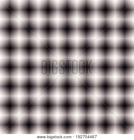 Black And White Mosaic Texture, Mosaic Pattern. Seamlessly Repeatable.