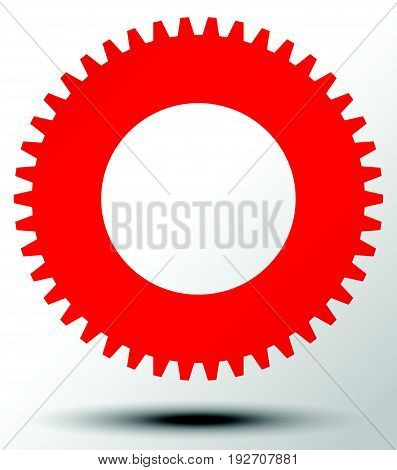 Settings, Configuration, Maintance, Service Or Repair, Development Concept Icon With Gear Symbol