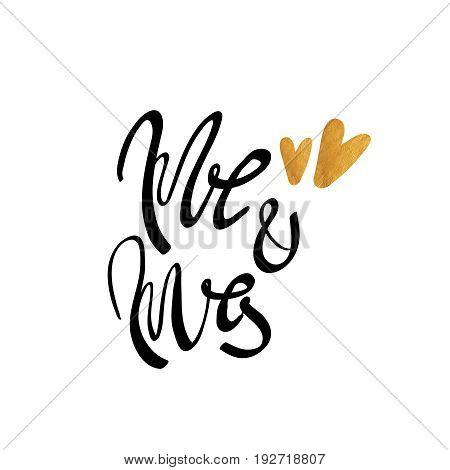 Mr and mrs sign mister and missis hand lettering wedding sign traditional wedding words