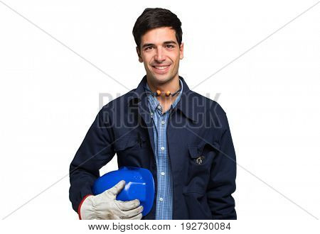 Portrait of an industrial worker