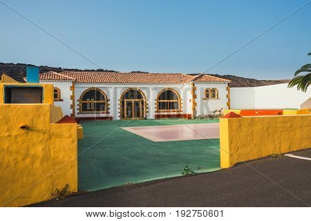 Ajuy Village On Fuerteventura Island, Canary, Spain